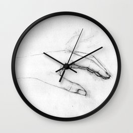 The Left One Wall Clock