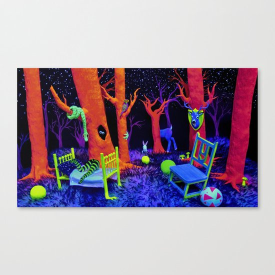 Bump in the Night Canvas Print