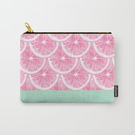 Zesty splice - pink grapefruit Carry-All Pouch