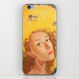 Yellow Selfportrait  iPhone Skin