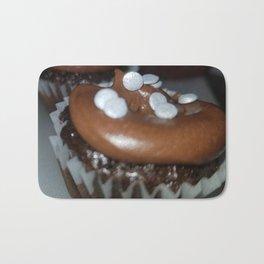 Chocolate Oreo crunch cupcakes Bath Mat