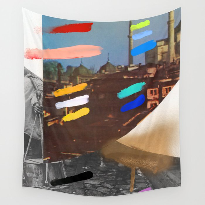 Composition 767 Wall Tapestry