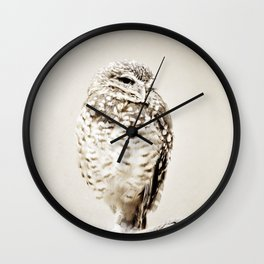 Solitary Wall Clock