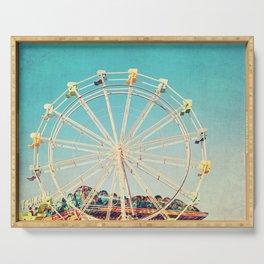 Boardwalk Ferris Wheel Serving Tray
