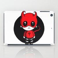 devil iPad Cases featuring Devil by Chrystal Elizabeth