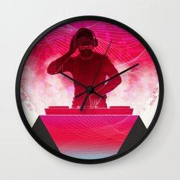 House DJ Wall Clock