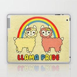 Cute Kawaii Llama Pride Rainbow Laptop & iPad Skin