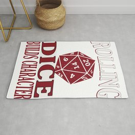 RPG Gaming Table Top Dice Game Gift Design Idea Rug