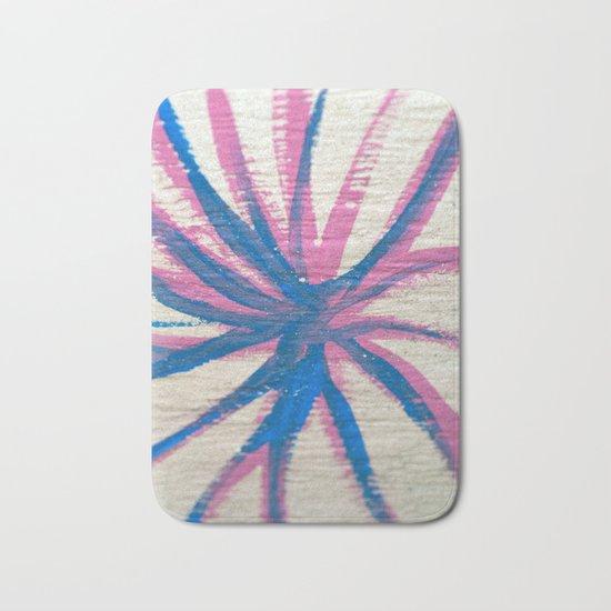 Pink meets Blue #1 #decor #art #society6 Bath Mat