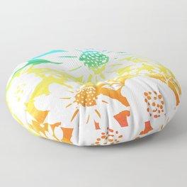 Zen Floral Floor Pillow