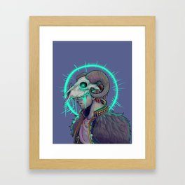 Anders and Justice Framed Art Print