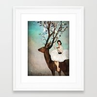 Framed Art Prints featuring The Wandering Forest  by Christian Schloe