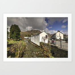 Coniston River  Art Print