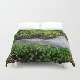 Vibrant Moss Duvet Cover
