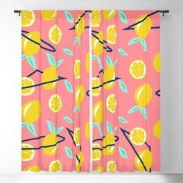 Lemons party #society6 #decor #buyart Blackout Curtain
