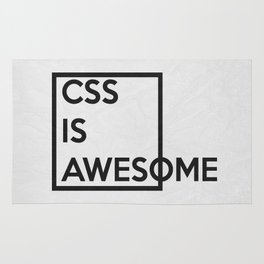 CSS is Awesome Rug
