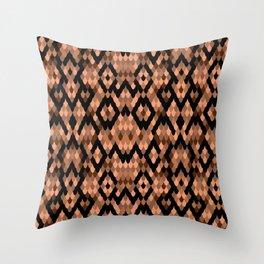 Snake pattern Throw Pillow