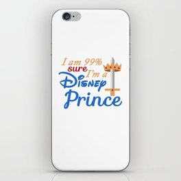 I'm 99% sure I'm a Prince iPhone Skin