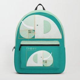 Fibonacci elephant Backpack