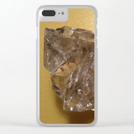 Quartz crystal from New York Clear iPhone Case