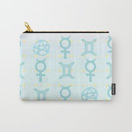 Pastel Gemini Carry-All Pouch