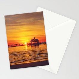 Orange Glow Sunset Stationery Cards