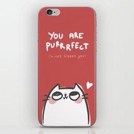 Purrrfect iPhone Skin