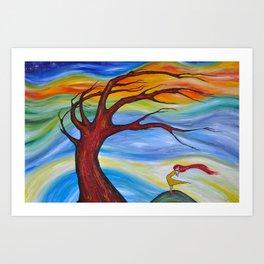Seasons Change Art Print