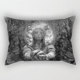 The Grave of Black & White Rectangular Pillow