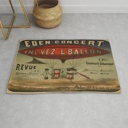 Vintage poster - Enl'vez L'ballon Rug
