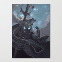 The Dreamteller of the Departed Canvas Print