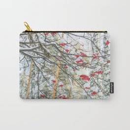 Winter Rowan and birchs Carry-All Pouch