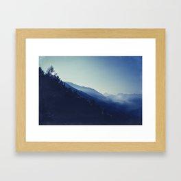 daybreak blues Framed Art Print