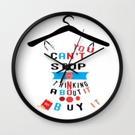 Profashion designer stylish t-shirt Wall Clock