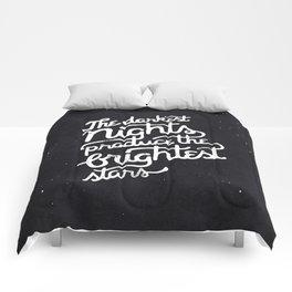 Darkest Nights Comforters