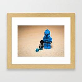 Senate Commando Framed Art Print