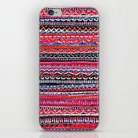 batik iPhone & iPod Skins featuring Batik Attack by RAMALAMA