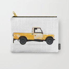 LANDROVER YELLOW Carry-All Pouch