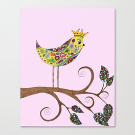 Bird Talk Canvas Print