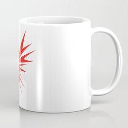 Abstract Red Eagle Coffee Mug