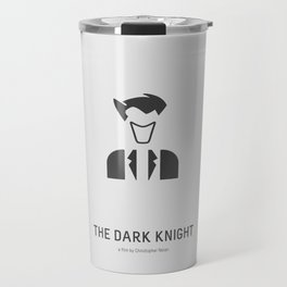 Flat Christopher Nolan movie poster: Dark K. Travel Mug