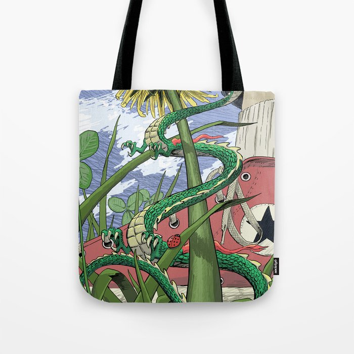 Dragons Unseen  Tote Bag