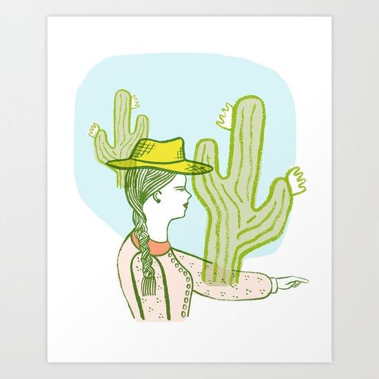 Westward Ho! Art Print