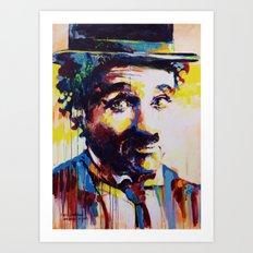 Charlie Chaplin Art Print