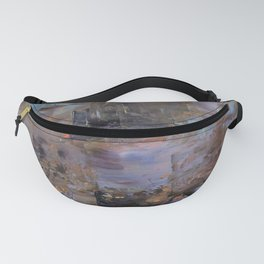 Night and Gold Fanny Pack
