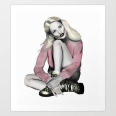 Fashion Illustration - Pretty in Pink Art Print