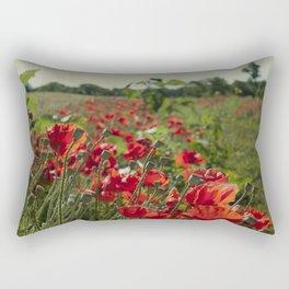 Poppy Field Rectangular Pillow