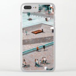 Cube of chocolate Clear iPhone Case