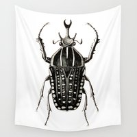 insect Wall Tapestries featuring INSECT №8 by Reel Feel