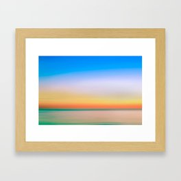 Colorful Serene Landscape Framed Art Print
